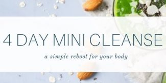 4-Day Mini Cleanse