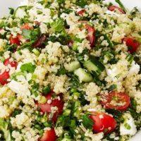 Quinoa Tabbouleh with Feta