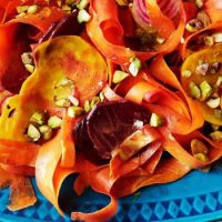 Beet Carrot Salad with Curry Dressing