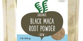 Organic Raw Sundried Black Maca Powder 1lb