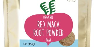Organic Raw Sundried Red Maca Powder 1 lb