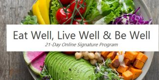 Online Program: Eat Well, Live Well, Be Well
