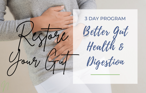 3-Day Gut Rebuilding Program