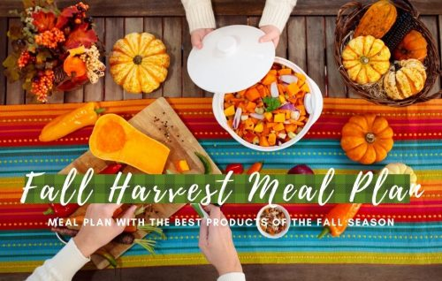 Fall Harvest & Autumn Recipes Meal Plan