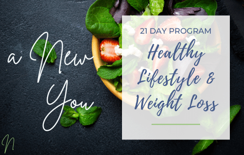 21-Day Healthy Lifestyle, Weight Loss Program