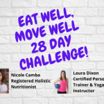 Eat Well Move Well; 28 Day Challenge